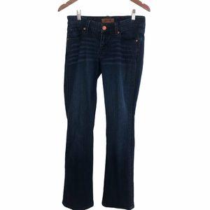 Seven Womens Bootcut Dark Wash Jeans